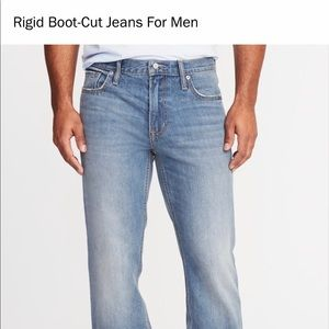 Old navy rigid boot cut jeans